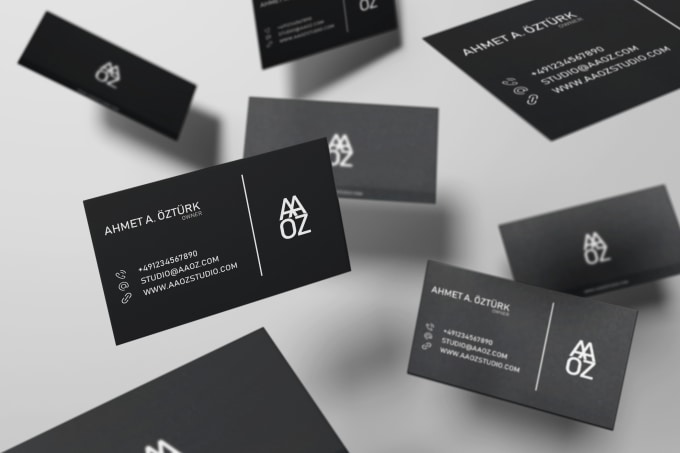 Design very nice business card by aaozdesign design very nice business card colourmoves