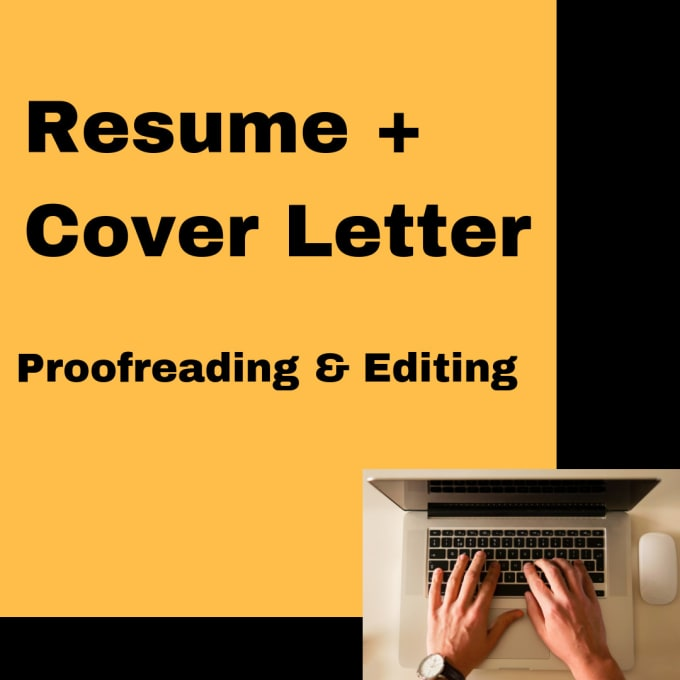 proofread resume and cover letter by gcrest40