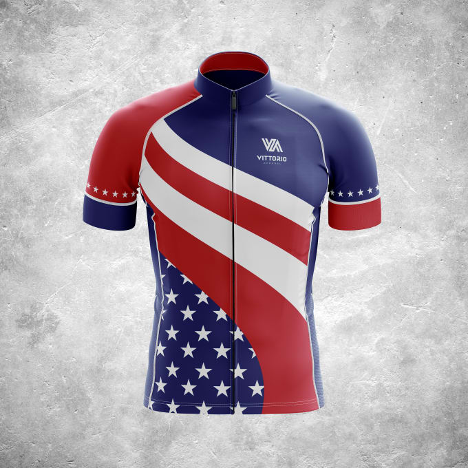 Create cool custom cycling jerseys and apparel by