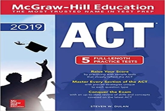 ryanjaber : I will provide one copy of act prep 2019 for $5 on  www fiverr com