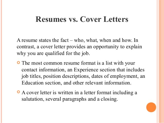 Write a cover letter and resume by Writingtax110