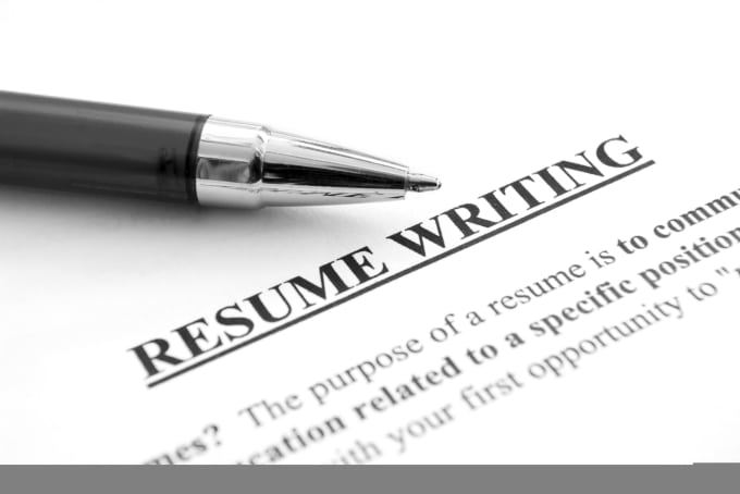 design, write and edit a professional resume and cover letter