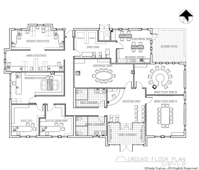 Redraw 2d Floor Plan Using Autocad With Very Fast Delivery