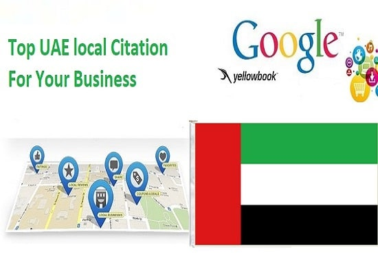 create 30 uae local citations