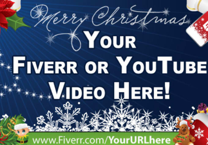 Add your video to this professional merry christmas border by tical13 add your video to this professional merry christmas border m4hsunfo
