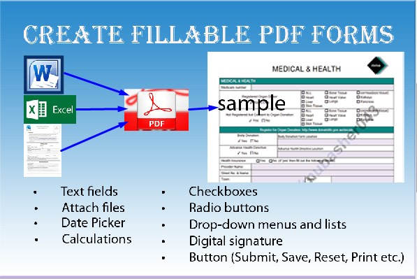 Sample Fillable Pdf Form