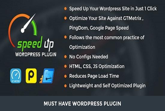 Do wordpress speed optimization up to 85 on google by Rockk4