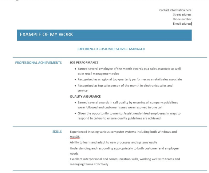 create proofread or revise your resume or cv by dnation