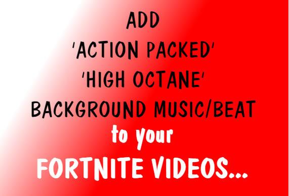 add fortnite rap video promotion background music to your youtube video etc - fortnite video background music