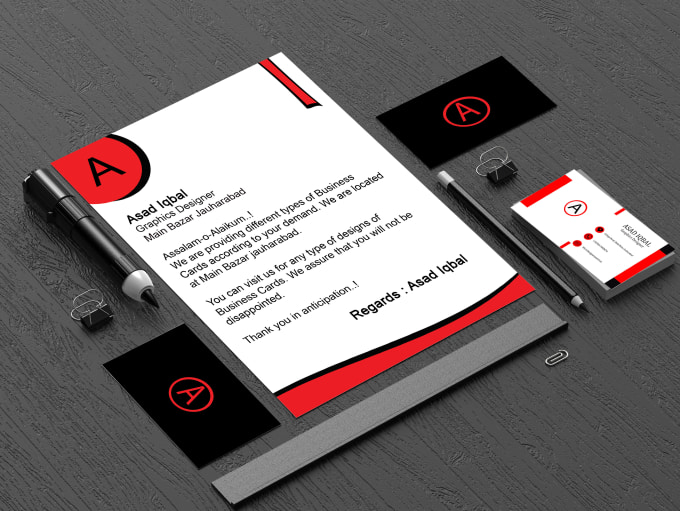 Design Delightful Business Cards For You By Muhammadiqba607