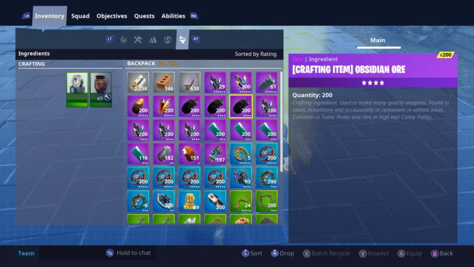 fortnite save the world items and guns