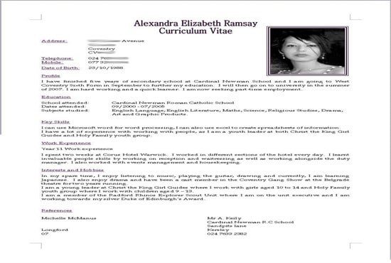 create an eye catching cv resume and cover letter for you by umerroxx63