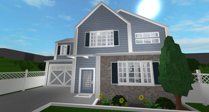 Build You A Beautiful Bloxburg House In Roblox By