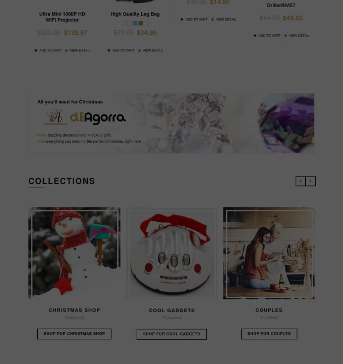 theagorra : I will create and customize any niche shopify store for $15 on  www fiverr com
