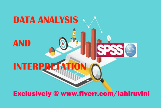 lahiruvini : I will data analysis and interpretation with spss for $350 on  www fiverr com