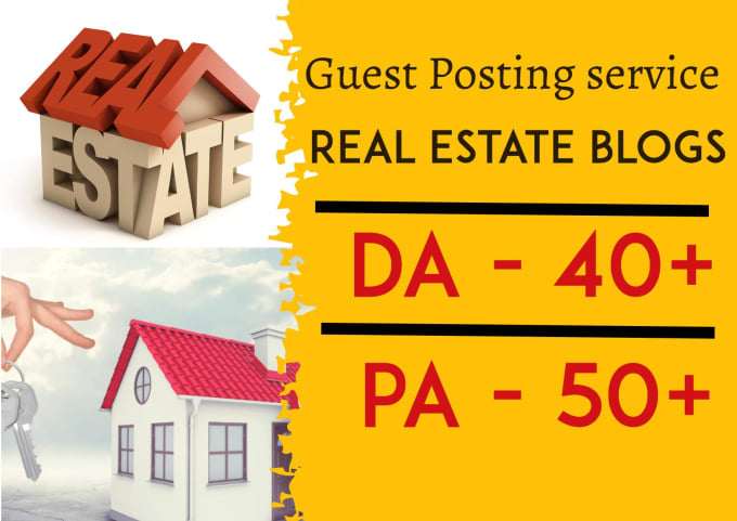 do guest post in da 40 real estate blog