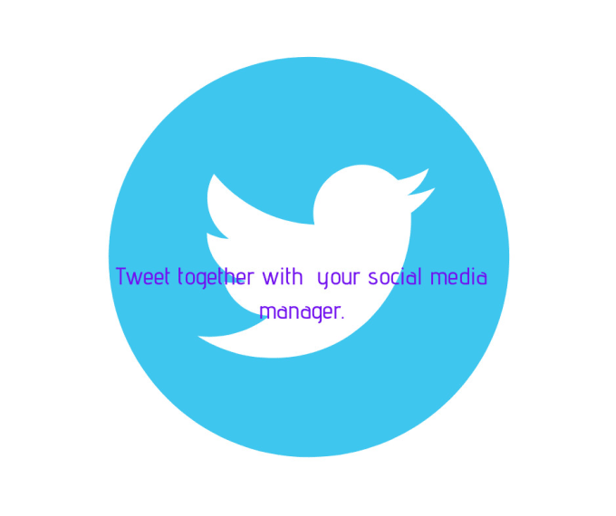 your social media manager for twitter profile
