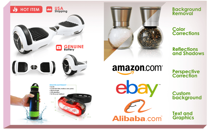 make a professional product image ready for Amazon Ebay