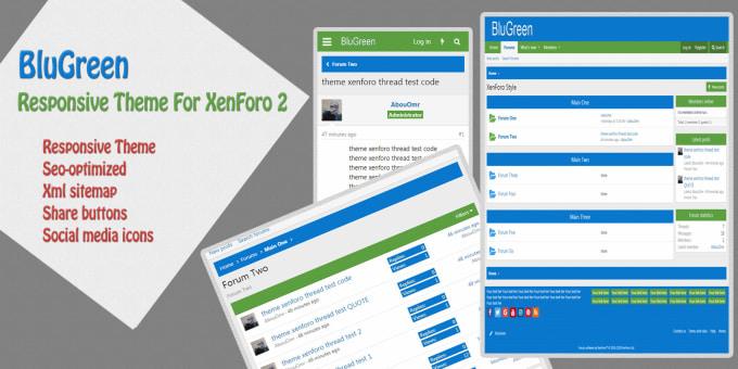 mohamedelazab : I will design xenforo responsive theme for $5 on  www fiverr com