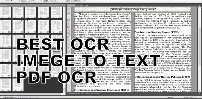 do ocr, PDF to ms word conversion best ocr