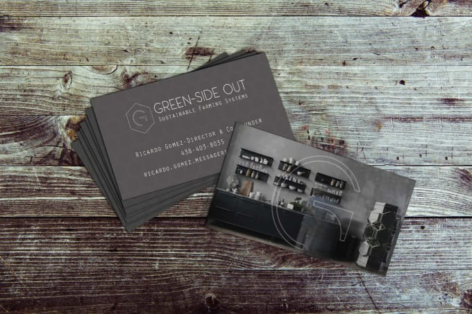 Make You Some Sweet Business Cards By Oberondesignz