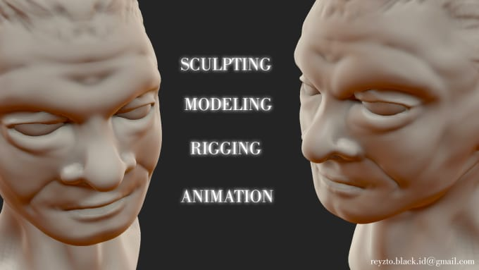 create a professional 3d animated and modeling also rigging in blender
