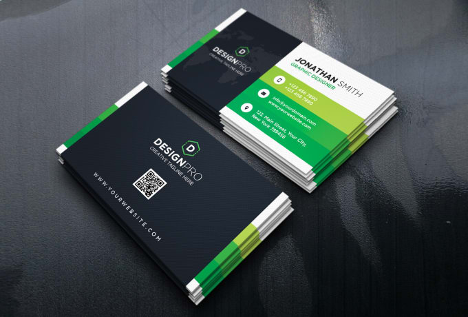 Creat Vista Print And Moo Print Business Card Design By Nayonrahman
