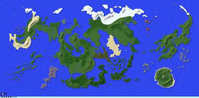 generate a custom minecraft world for you