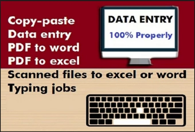 virensha : I will do data entry, pdf conversion, ms excel and word,  translation hindi to english for $5 on www fiverr com