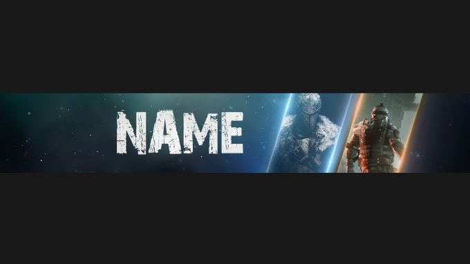 ashenjag : I will create awesome gaming youtube banner or channel art for  $5 on www fiverr com