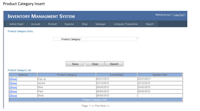 develop point of sale, inventory management software