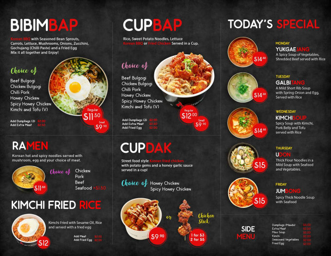 Design Food Menu Restaurant Menu And Menu Board Design By