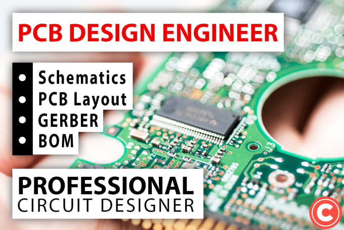 do pcb layout, circuit design and schematic design