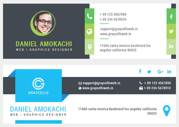 Email Signature Email Template Mailchimp Template