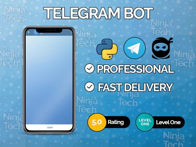 create a telegram bot on python