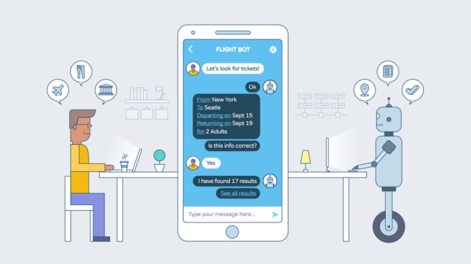 create a custom chatbot, discord, slack, facebook messenger