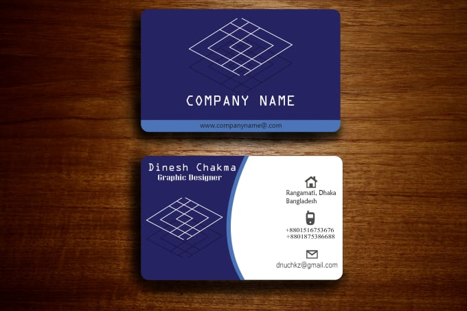 create stylish and professional business cards for you