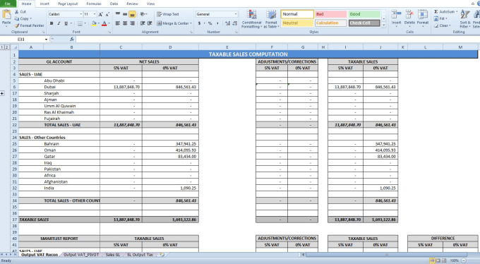 Good In Microsoft Excel And Prepare Financial Reports By Aicomarie