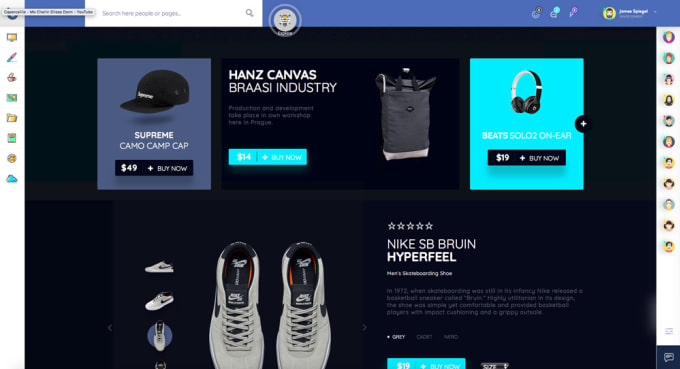 Give You The Best Html5 Template For Social Networks 74pages By