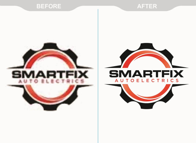 redesign or turn logo into vector format by rockdesigner161