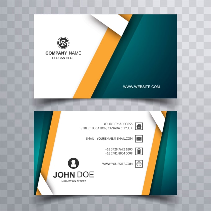 Design Professional Business Card With Two Concepts By Abdulazizmc