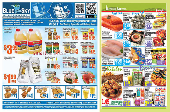 Create grocery store catalog or flyer by digitalkaam for Design store online