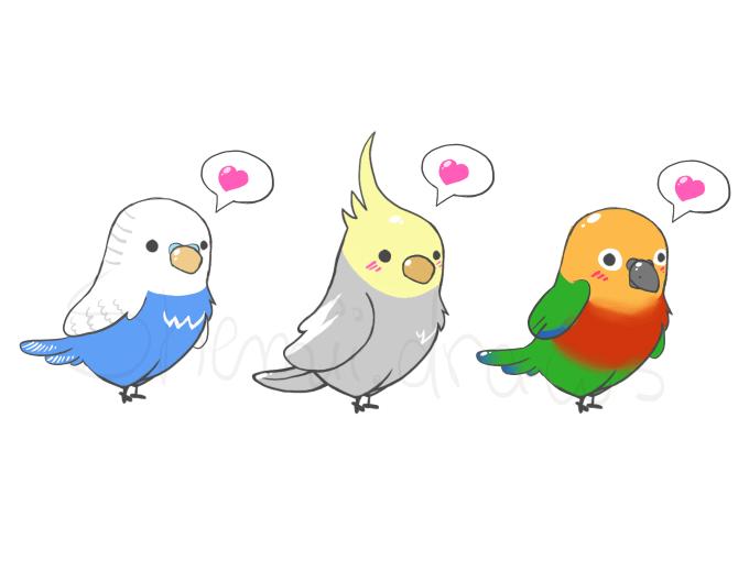 Draw A Cute Chibi Of A Bird By Emabrumercek