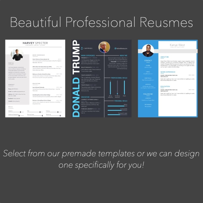 I Will Create A Resume Curriculum Vitae And Cover Letter For You