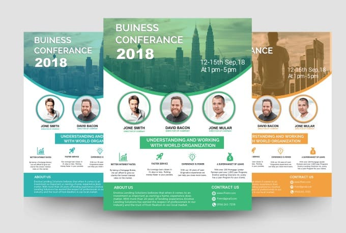 create the perfect flyer or brochure