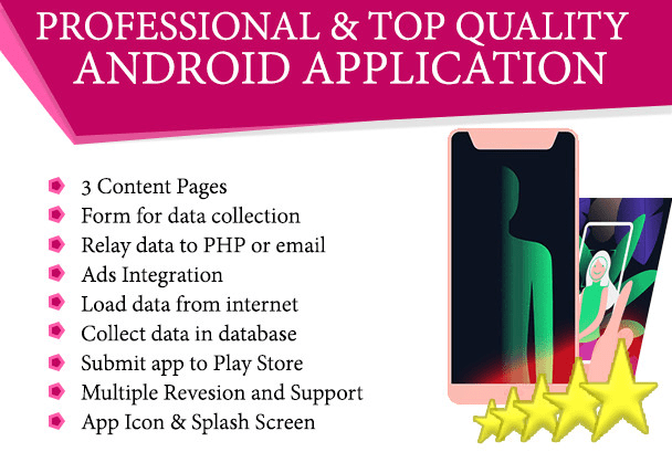 diipdeveloper : I will discount offer professional, top quality android app  for $10 on www fiverr com