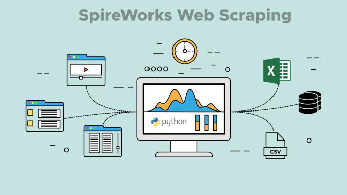 create a python script to scrape a website or websites