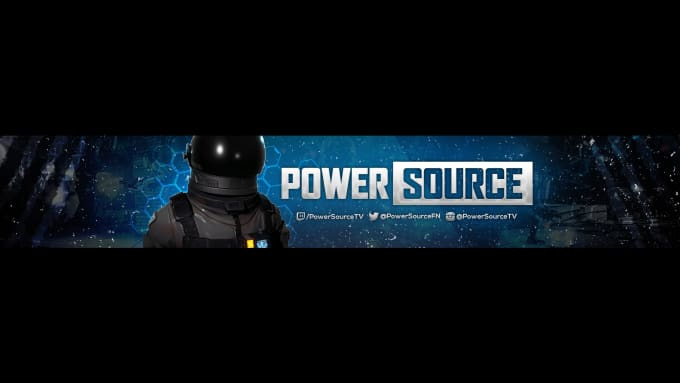 design a youtube gaming banner by revealsecret