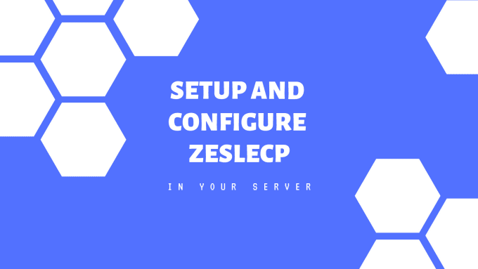 iyusuf : I will setup and configure zesle control panel in your server for  $35 on www fiverr com