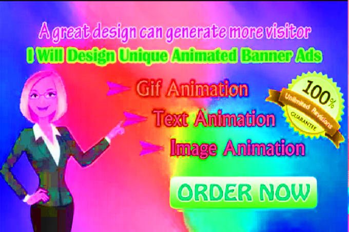 create unique animated banner ads by gif animation